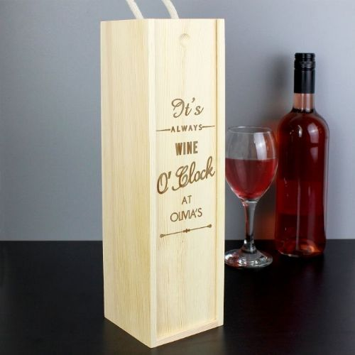 Personalised O'Clock Bottle Presentation Box